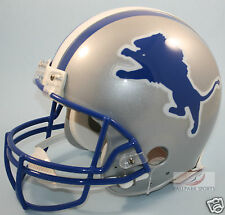 DETROIT LIONS (1983-02 Throwback) Riddell Full-Size Authentic Helmet