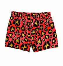 NEW AUTHENTIC DSQUARED2 SEXY SILK BOXER LOUNGE SHORTS M/ITALY SIZES S, M, L, XL