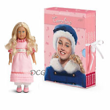 American Girl BOOK CAROLINE BOXED SET & MINI DOLL Board Game 6 Paperback NEW