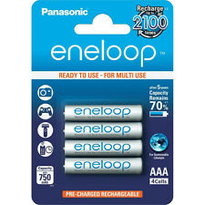 4x Panasonic Eneloop AAA Micro Battery for AEG Audioline TELEPHONE HR-4UTGB-4BP