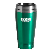 University of Alabama at Birmingham - 16-ounce Travel Mug Tumbler - Green
