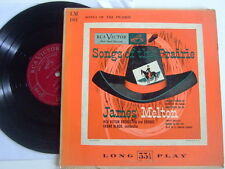 JAMES MELTON Songs of the prairie LM 101 RCA VICTOR ORCHESTRA & CHORUS F. Black