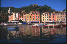 204054 The Classic Buildings Reflected In The Harbor Waters A4 Photo Print