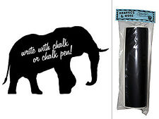 Elephant - Chalkboard Vinyl Sticker Decal Wall Decor