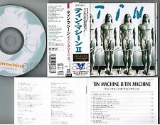 DAVID BOWIE-TIN MACHINE II JAPAN CD VICP-5075 w/OBI+JPN BOOKLET Free S&H