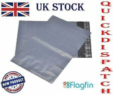 """50pcs of 10""""x14"""" Gray Postal Mailing Bags for Royal Mail & Other Postal Services"""