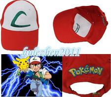 Anime Pokemon ASH KETCHUM trainer costume cosplay hat cap NEW