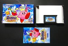 Hoshi no KIRBY AMAZING MIRROR GAME BOY ADVANCE GBA JAPAN Very Good Condition !