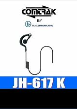 JH-617 K AURICOLARE A PADIGLIONE APERTO 2,5mm WOUXUN KENWOOD BAOFENG 333017