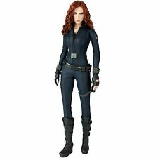 NEW Movie Masterpiece Iron Man 2 BLACK WIDOW 1/6 Action Figure Hot Toys Japan