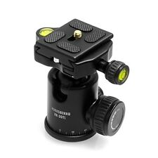 NEW HORUSBENNU RX-30TL Tripod Camera Ball Head w/ Quick Release Plate