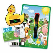 Baby & Child 'Farm Yard Animals' Thermometer Pack - Room, Bath & Forehead