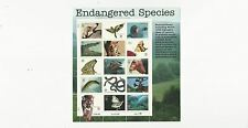 US Stamps Sheet/Postage Sct #3105 Endangered Species MNH F-VF OG  FV$4.80