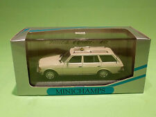 MINICHAMPS 1:43  MERCEDES BENZ W 123 KOMBI TAXI   - NEAR MINT   - IN BOX