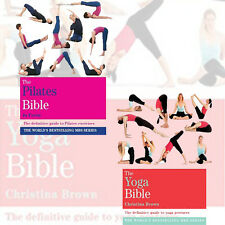 The Bible 2 Books collection set(The Yoga Bible:Godsfield Bibles,The Pilates Bib