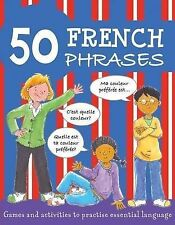 Susan Martineau 50 French Phrases (50 Phrases) Very Good Book