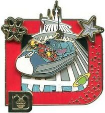 DISNEY PIN STITCH SPACE MOUNTAIN CLASSIC D LE WDW ON CARD