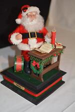 Santa Claus Musical Figure Lighted Christmas Naughty List Holiday Creations
