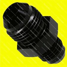 AN8 8AN to AN6 6AN Male Flare Straight Reducer Fitting Adapter Black W/ Warranty