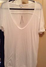 JAMES PERSE WHITE T SHIRT SIZE 4 NWT WKV3462CU