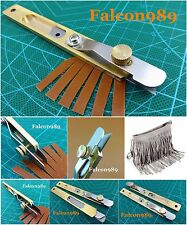 1pc Leather Craft Copper Line Strip Trimming Positioning Knife Cutter Tool NEW