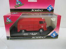 Solido 1/43 4535 v.w Combi pompiers Frankfurt am Main b9951
