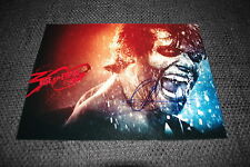 "Jack O 'Connell signed autógrafo en"" 300: Rise of an Empire ""imagen inperson Look"