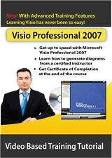 Learn Microsoft Visio Professional 2007 Video Training - Certified Instructor