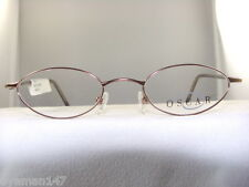 OSCAR de La Renta SMALL BROWN OVAL EYEGLASS FRAME #114