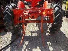 Allis Chalmers C Tractor 3pt hitch w/ cylinder for rockshaft arms on an AC