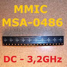 10 pcs. MSA-0486 MMIC Hewlett Packard Agilent DC - 3,2 GHz