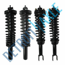 4 New Complete Strut 1996-2000 Civic W/ Spring & Mounts Quick Assembly