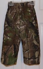 Realtree APG 18M Camo Boys Girls Toddler Hunting Two Pocket Pants BNWT