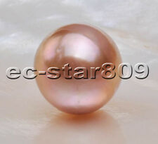 P5690 100% Natural 13.5mm Champagne ROUND Edison KESHI PEARL LOOSE BEAD