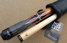 New Viking Valhalla Pool Cue  VA941 Wrapless Golden Stained Curly Maple Handle!