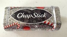 Chapstick Holiday CANDY CANE 3 Piece Lip balm Collector's Tin + 2 Sticks