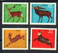 BRD Germany 1966 juventud Rotwild fauna Hirsch ciervo cabra