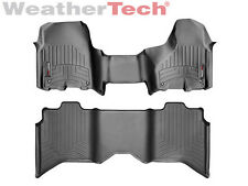 WeatherTech® FloorLiner for Dodge Ram 1500 - OTH - Crew Cab - 2012-2017 - Black