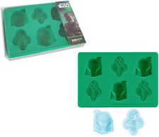 Star Wars: Official Boba Fett Silicone Ice Cube/Cake Mould Tray - Sealed In Pack