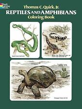Reptiles and Amphibians Coloring Book (Dover Nature Coloring Book), Coloring Boo