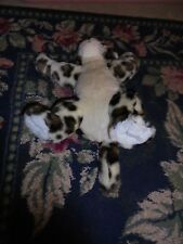 Build a Bear stuffed animal plush leopard toy BABW used jungle animal