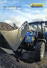 PUBBLICITA' WERBUNG * NEW HOLLAND 700 TL- 730TL- 740 TL- 750 TL- 760 TL-770 TL *