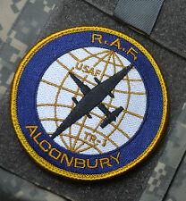 TR-1/U-2 HIGH ALTITUDE SPY PLANE DRAGON LADY R.A.F. ALCONBURY AB VELCRO INSIGNIA