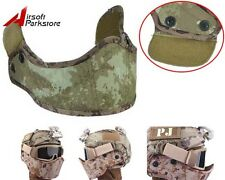 Tactical Helmet Armour Protective Face Mask Airsoft Military Paintball A-TACS