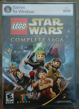 LEGO Star Wars The Complete Saga PC DVD - Brand New and Sealed