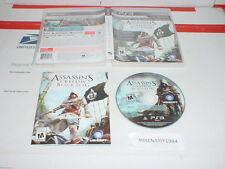 ASSASSIN'S CREED IV : BLACK FLAG game w/ manual for Sony Playstation 3 PS3