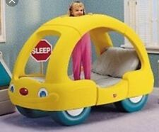 Step 2 Child's Toddler Yellow Car Kids Bed