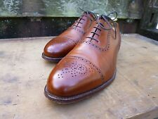 CROCKETT AND JONES BROGUE – BROWN / TAN - UK 12 –  EXCELLENT CONDITION
