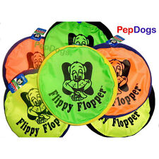 "Hyper Pet FLIPPY FLOPPER 9"" Dog Toy Floppy Flyer Soft Bite Frisbee Disc"
