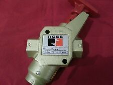 "Ross air dump valve. Lockout and exhaust. 1/2""NPT. Free shipping"